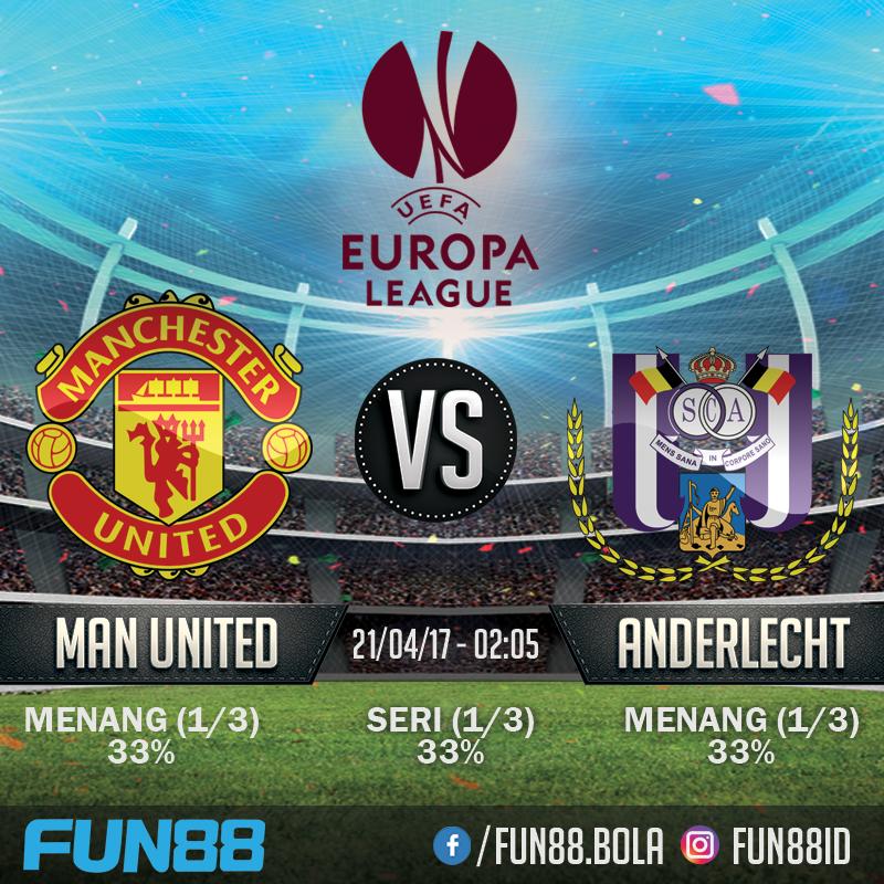 Prediksi Europa League - Manchester United v Anderlecht