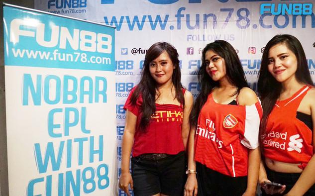 FUN88 Nobar x Arsenal v Chelsea 01