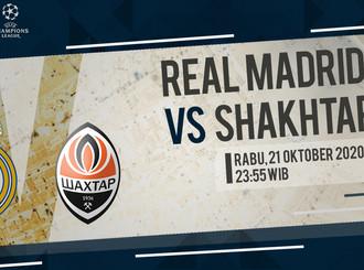 Prediksi Liga Champions: Real Madrid vs Shakhtar Donetsk