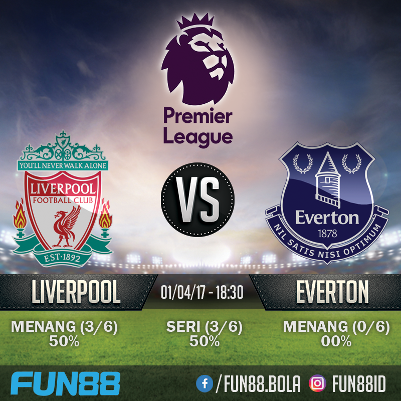 Prediksi Premier League - Liverpool v Everton