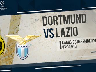 Prediksi Liga Champions: Borussia Dortmund vs Lazio
