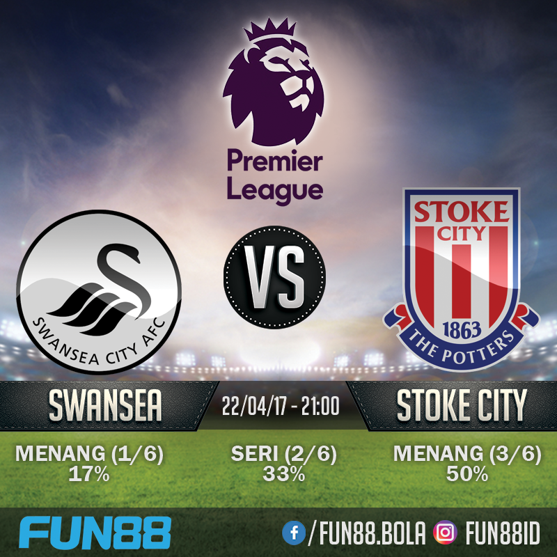 Prediksi Premier League - Swansea v Stoke City