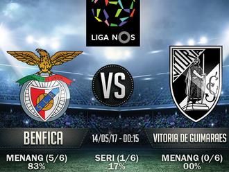 Prediksi Bola Liga NOS - Benfica v Vitoria de Guimaraes