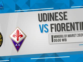 Prediksi Serie A: Udinese vs Fiorentina