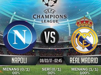 Prediksi Bola - Napoli v Real Madrid