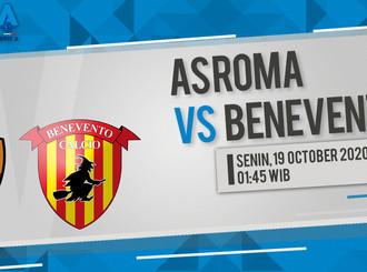 Prediksi Serie A: AS Roma vs Benevento
