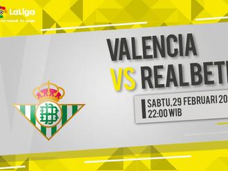 Prediksi LaLiga: Valencia vs Real Betis