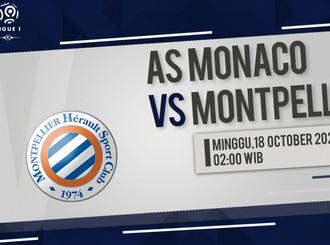 Prediksi Ligue 1: AS Monaco vs Montpellier