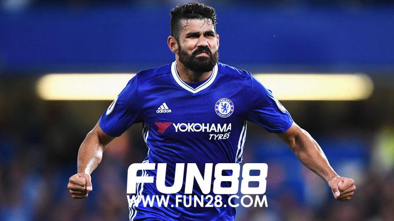 Diego Costa membuat kejutan