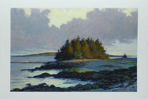 Tree Island, Giclee Print on Paper