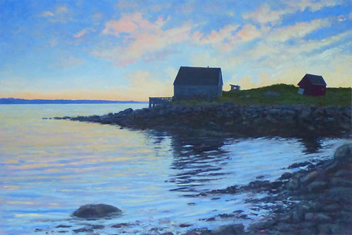 Daubins Cove, Giclee Print on Paper, Edition of 250