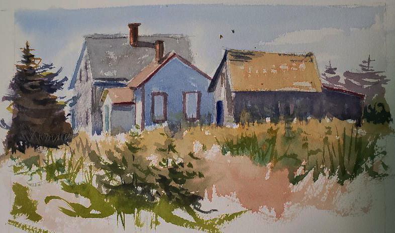 Maine Homestead