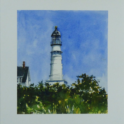 Two Lights, Giclee Print on Paper, Edition of 250 prints
