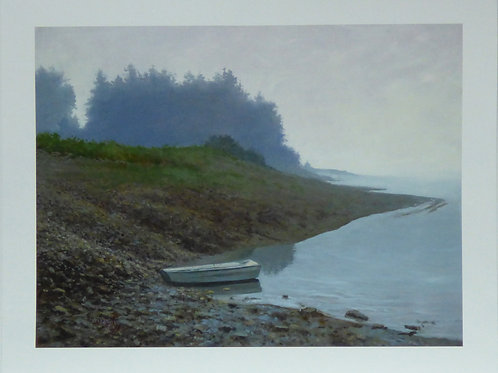 Slack Tide, Giclee Print on Paper, Edition of 250 prints