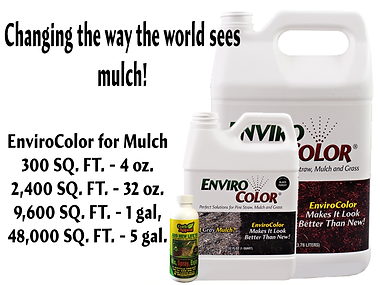 mulch dye from EnviroColor