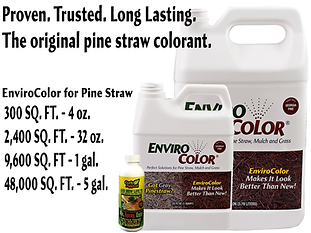 applying-EnviroColor-pine straw-paint