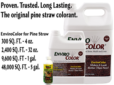 pine straw paint from EnviroColor