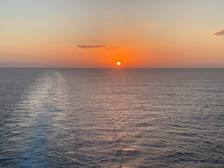 view from the cruise ship