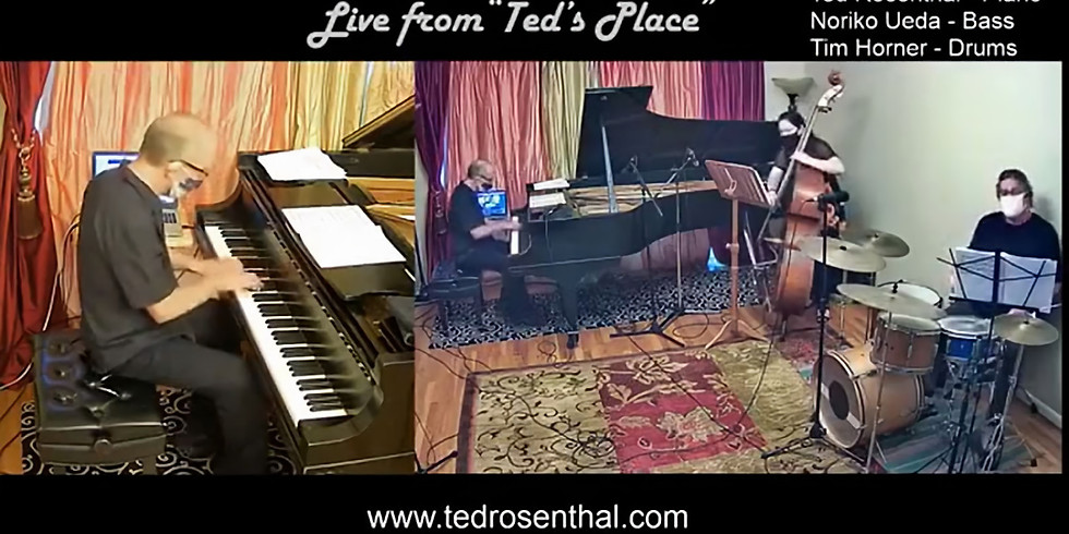 """Ted Rosenthal Trio at """"Ted's Place"""""""