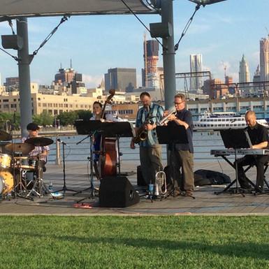 Chuck Braman Quintet at Hudson River NY