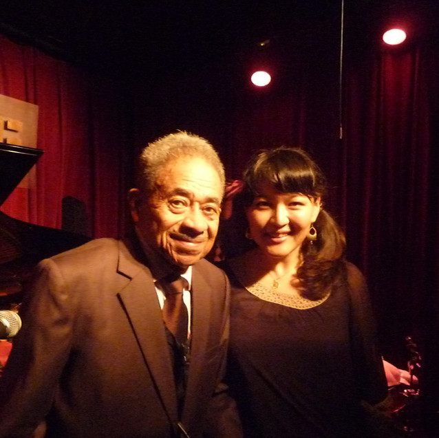 with Mr. Frank Wess
