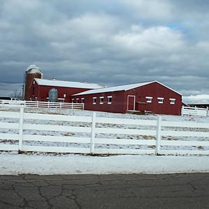 Winter Barns