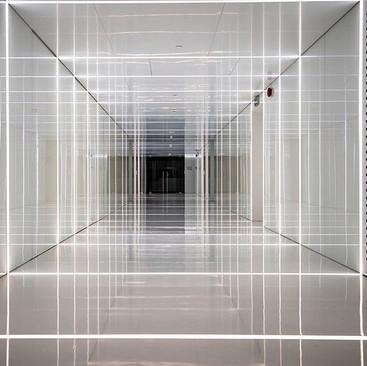 A lobby, a Square, a Trap