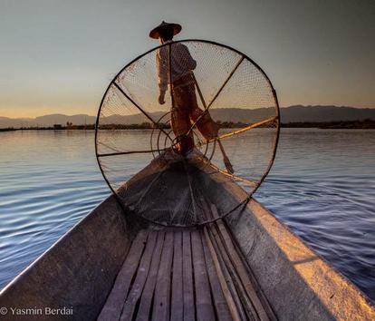 One legged Fisherman