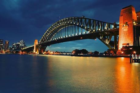 Sydney Harbour Bridge... another sunset!
