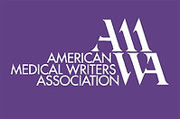 AMWA logo, Amer4ican Medical Writers Association