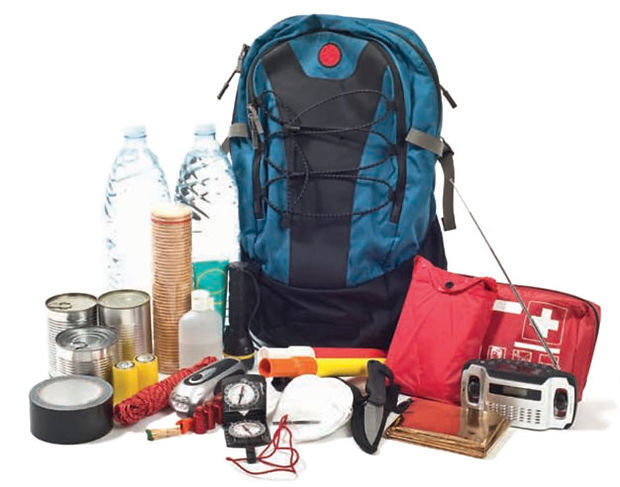 prepper medical equipment, backpack, first aid kit, off-grid supplies, camping gear