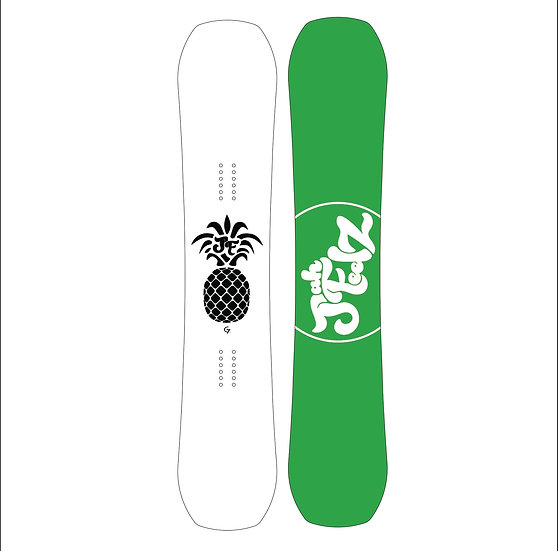 JahFeelZ Snowboard