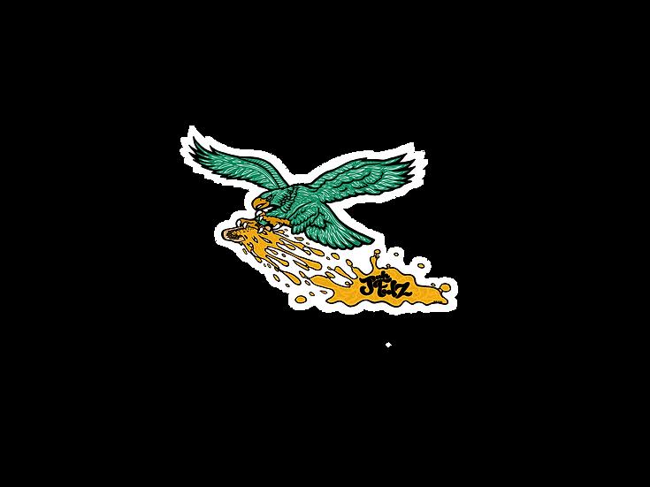 BIRD GVNG DieCut Sticker