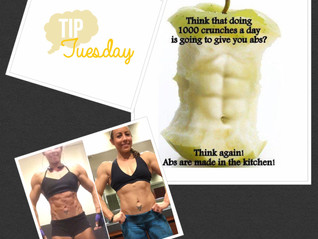 ABS ARE MADE IN THE KITCHEN trainer tip #8 4.18.17
