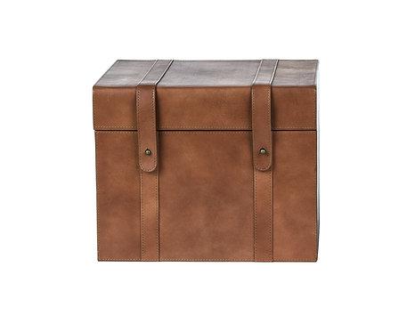 LEATHER VERA BOX - LARGE