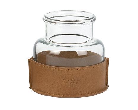 GLASS VERA JAR - SMALL