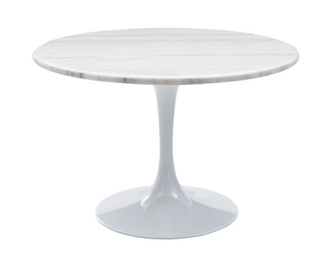 Colfax Dining Table - White/White