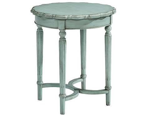 PIE CRUST SIDE TABLE - TALL
