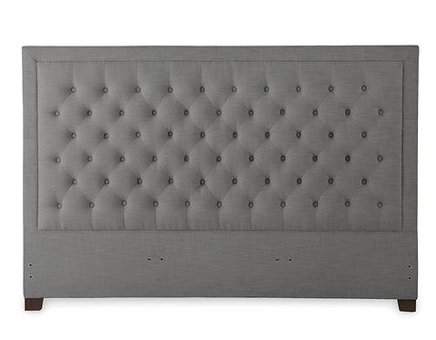 Isadora Gray Upholstered Headboard - King