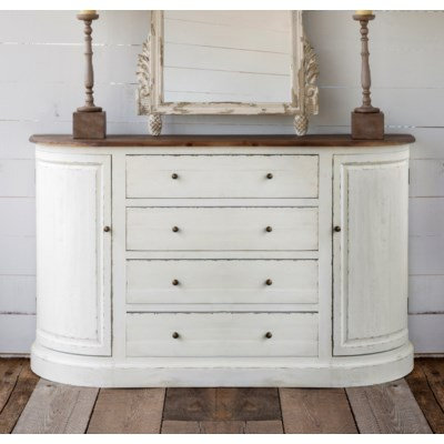 BOW FRONTED SIDEBOARD