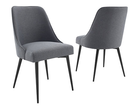 Colfax Side Chair - Charcoal