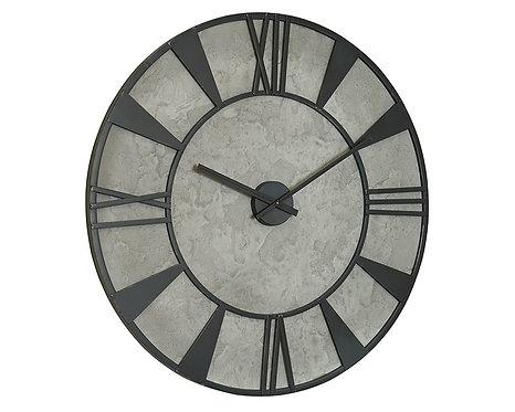 METAL INDUSTRIAL WALL CLOCK