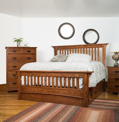 Old Mission Bed - King