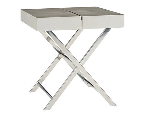 AVA SILVER END TABLE