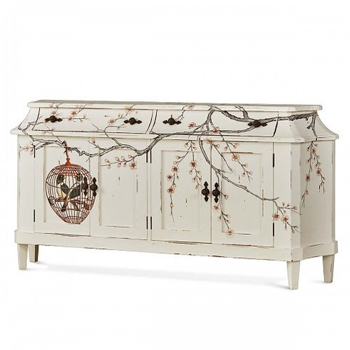 BOW LONG NARROW SIDEBOARD