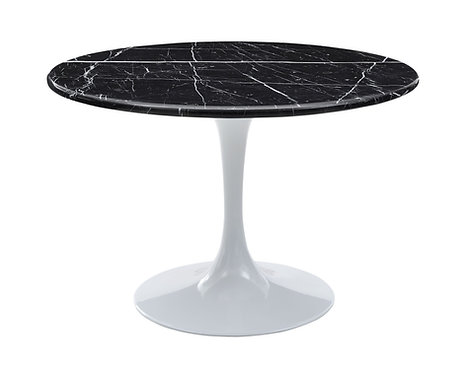 Colfax Dining Table - Black/White