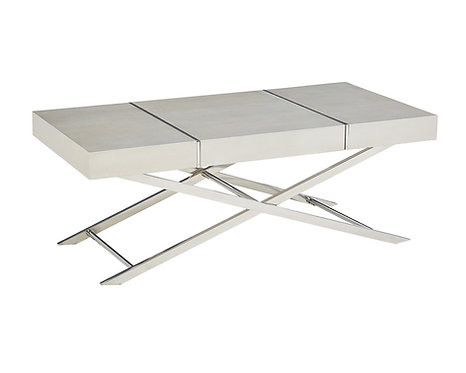 AVA SILVER COCKTAIL TABLE