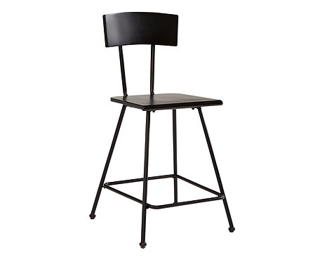 MARSTON METAL COUNTER HEIGHT STOOL