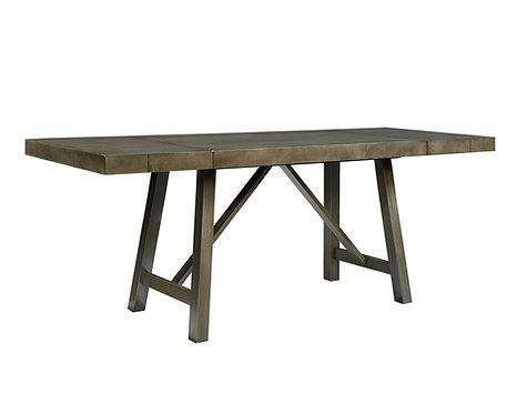 OMAHA GREY COUNTER HEIGHT TABLE