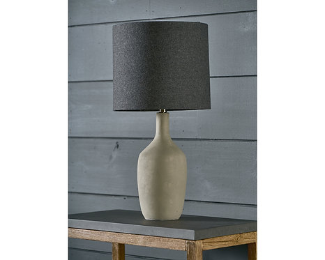 CEMENT ASHER TABLE LAMP